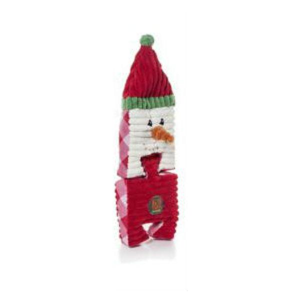 Christmas Puzzlers Snowman Dog Toy