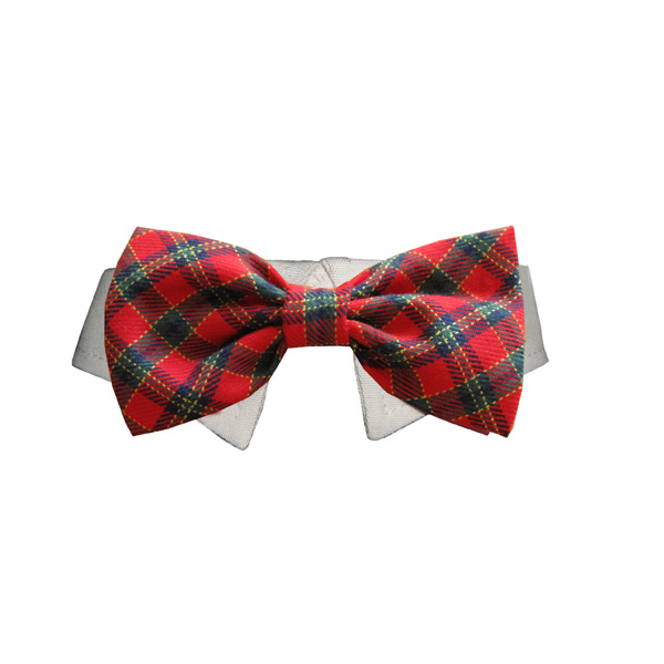 christmas bow tie for dog