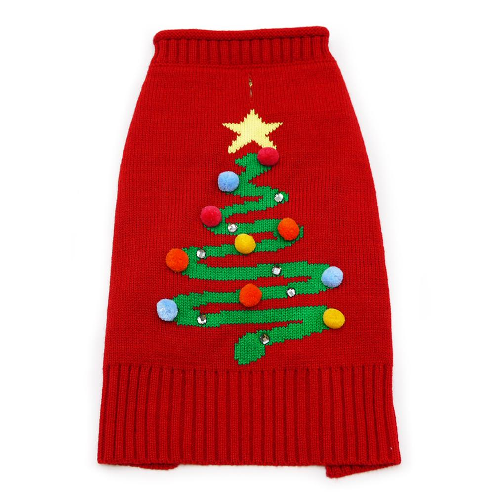 Christmas Tree Dog Sweater by Dogo