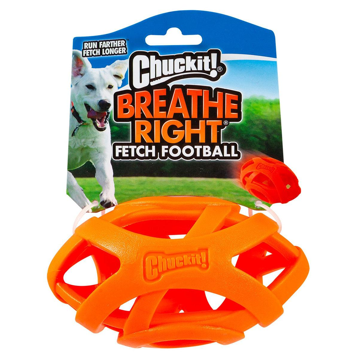 Chuckit! Breathe Right Fetch Football for Dogs
