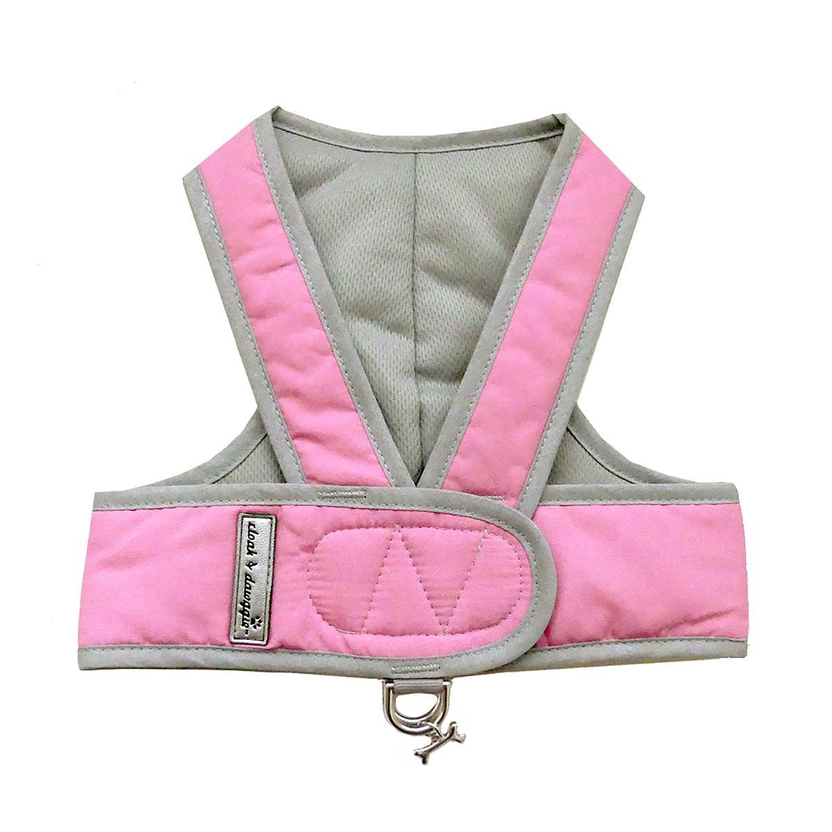 Cloak & Dawggie Classic Nylon Step N Go Dog Harness - Pink