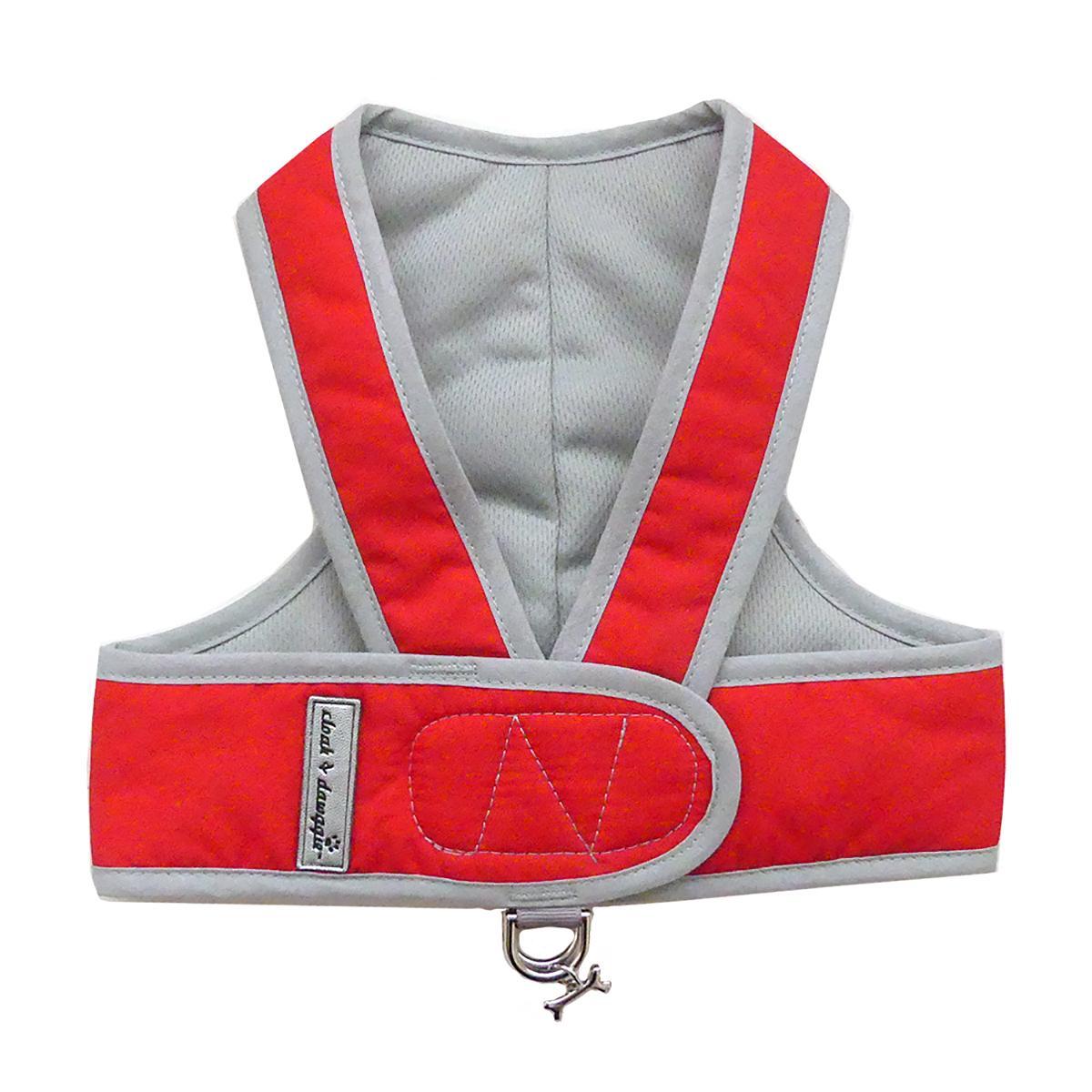Cloak & Dawggie Classic Nylon Step N Go Dog Harness - Red