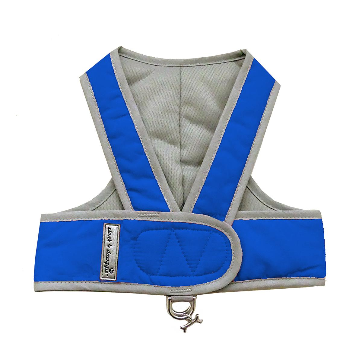 Cloak & Dawggie Classic Nylon Step N Go Dog Harness - Royal
