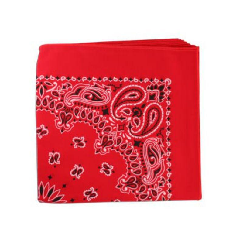 Classic Paisley Dog Bandana - Red