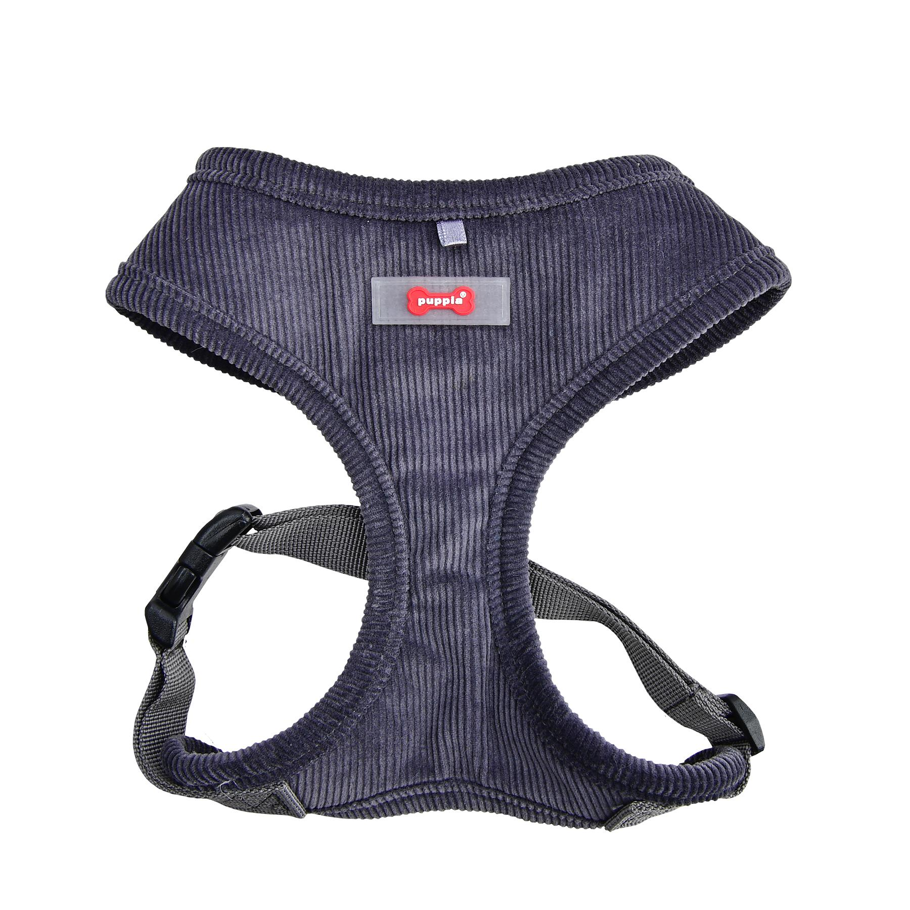 Classy Basic Style Dog Harness By Puppia - Grey