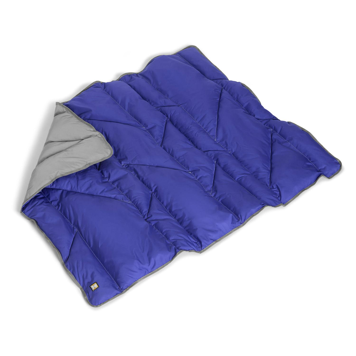 Clear Lake Dog Blanket by RuffWear - Huckleberry Blue