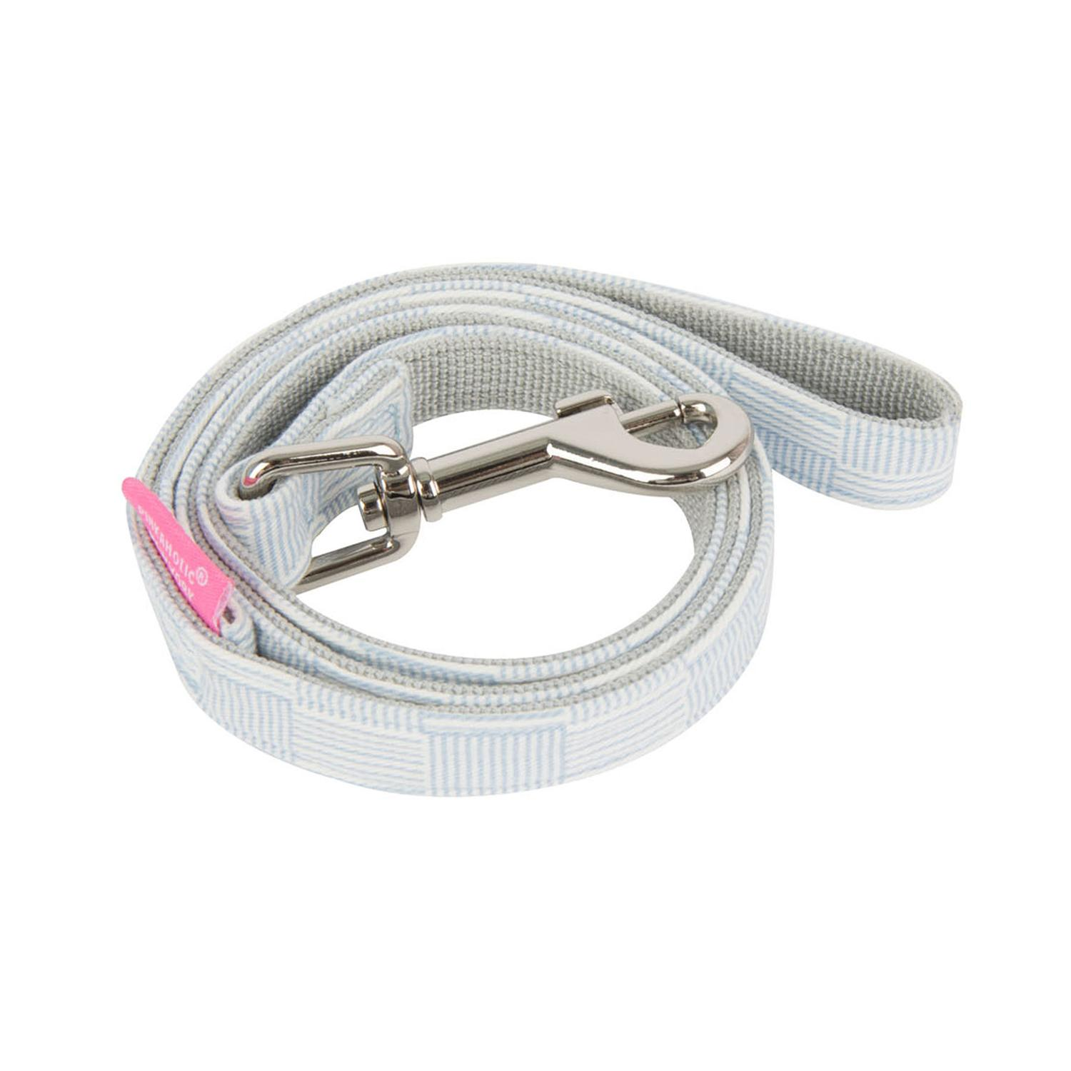 Clement Dog Leash by Pinkaholic - Light Blue