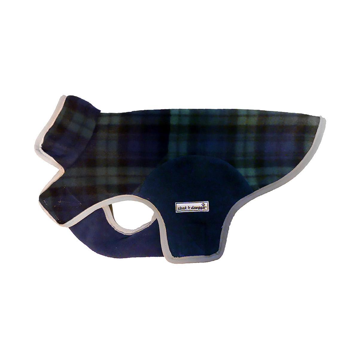 Cloak & Dawggie Precision Fit Fleece Dog Jacket - Black Watch