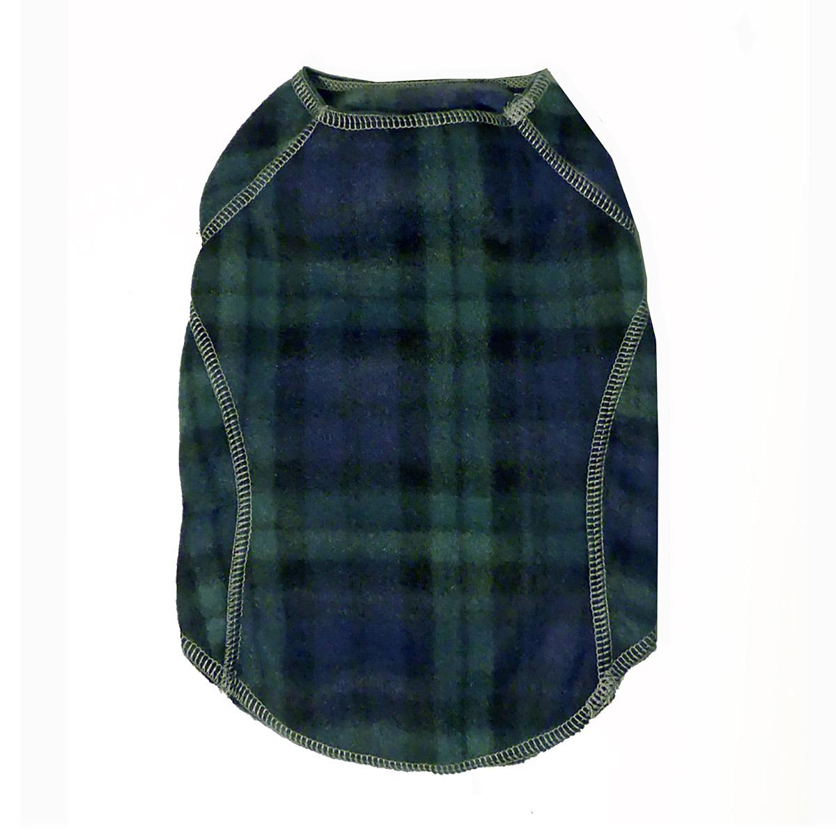 Cloak & Dawggie Stretch Fleece Dog Sweater - Black Watch