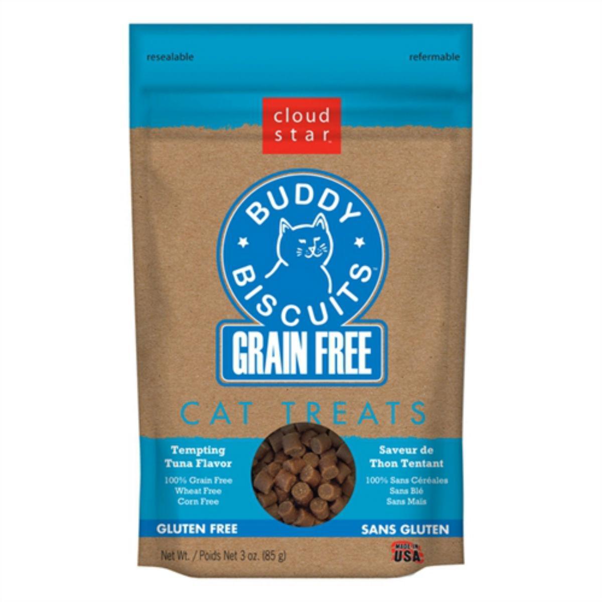 Buddy Biscuits Grain-Free Cat Treats - Tempting Tuna