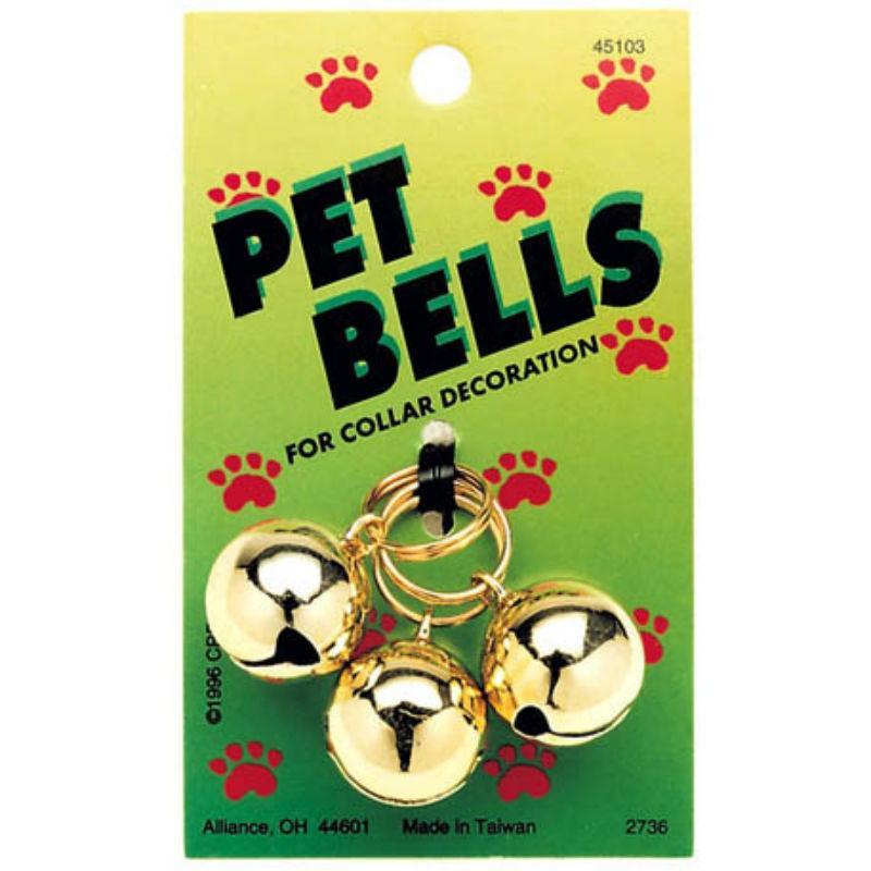 Coastal Pet Bells Collar Attachment - Gold