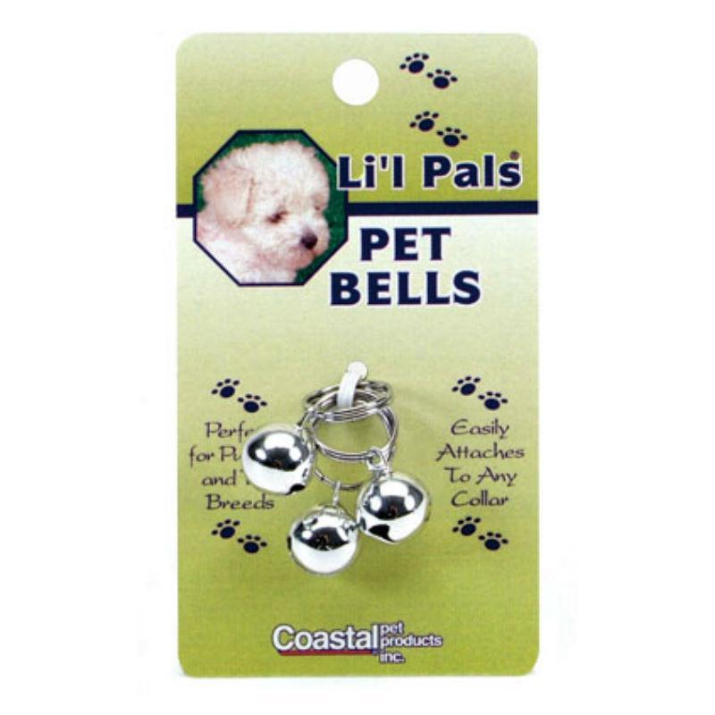 Coastal Pet Bells Collar Attachment - Silver