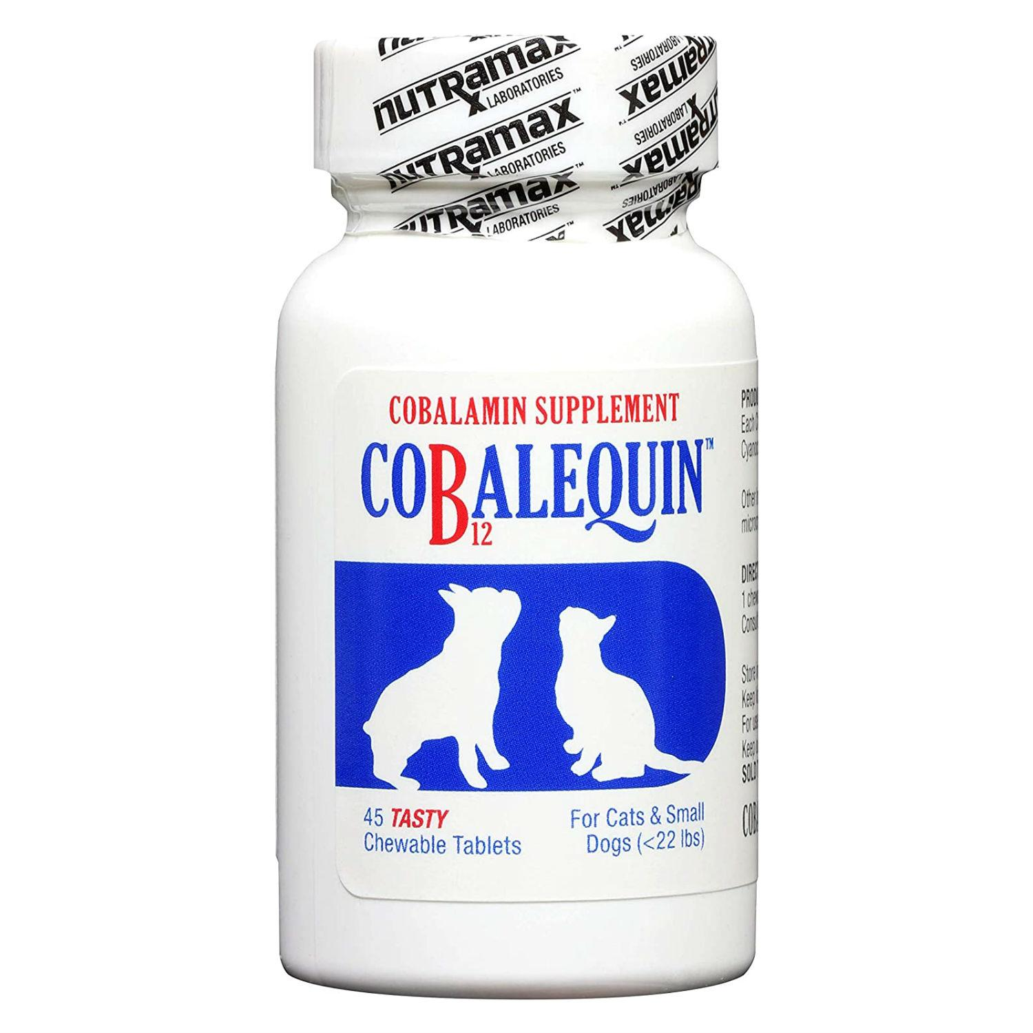Cobalequin®️ Chewable Tablets for Dogs and Cats by Nutramax®️