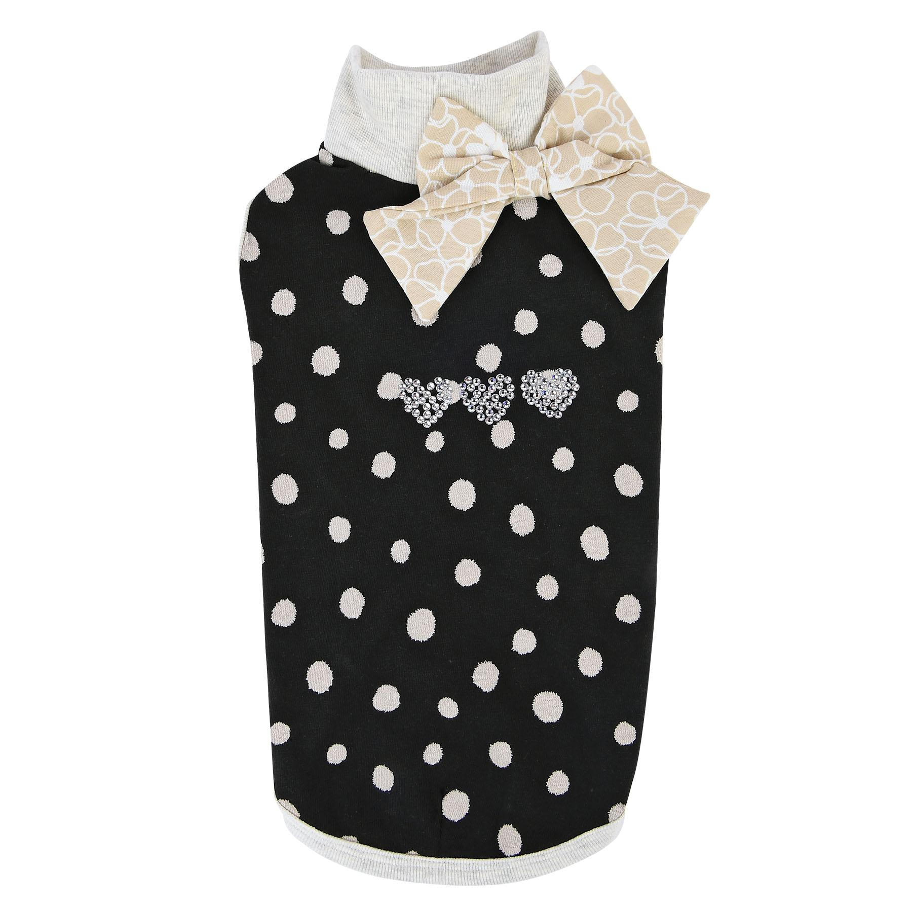 Coco Turtleneck Cat Shirt by Catspia - Black