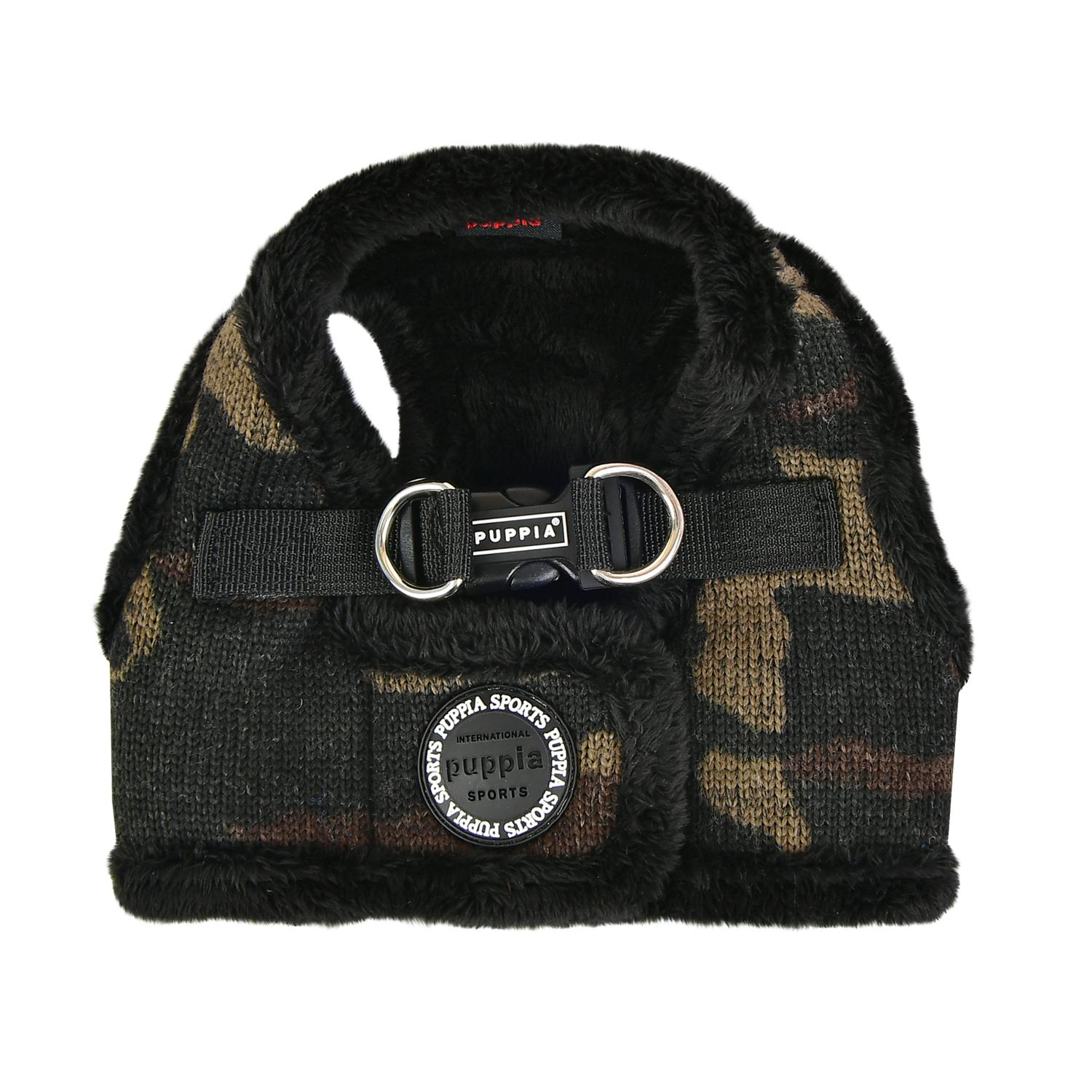 Colonel Vest Dog Harness by Puppia - Camo