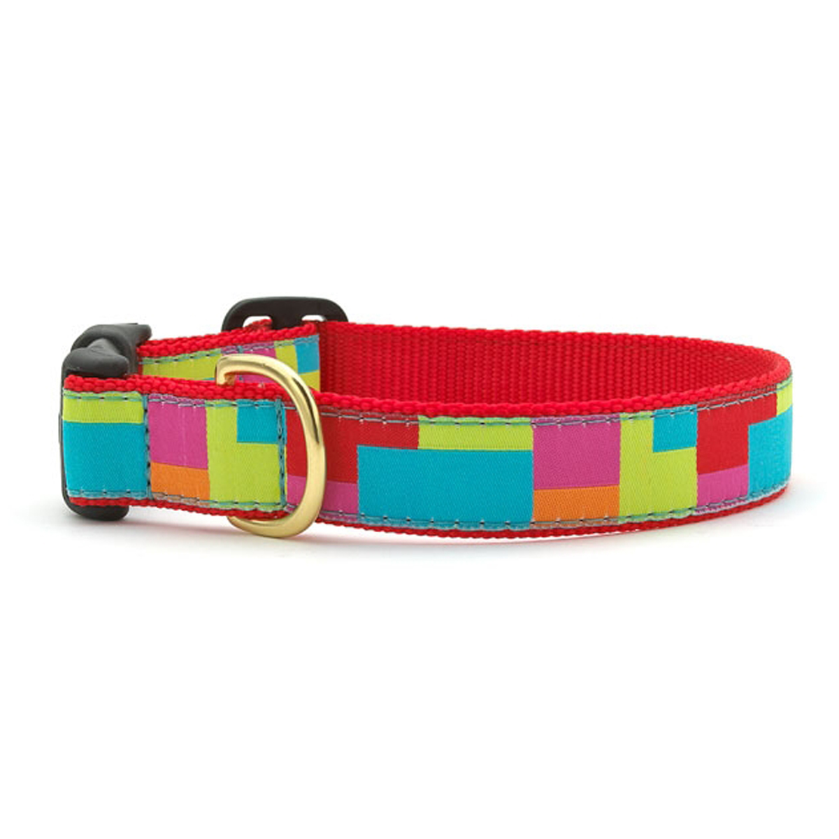 Color Block Dog Collar by Up Country
