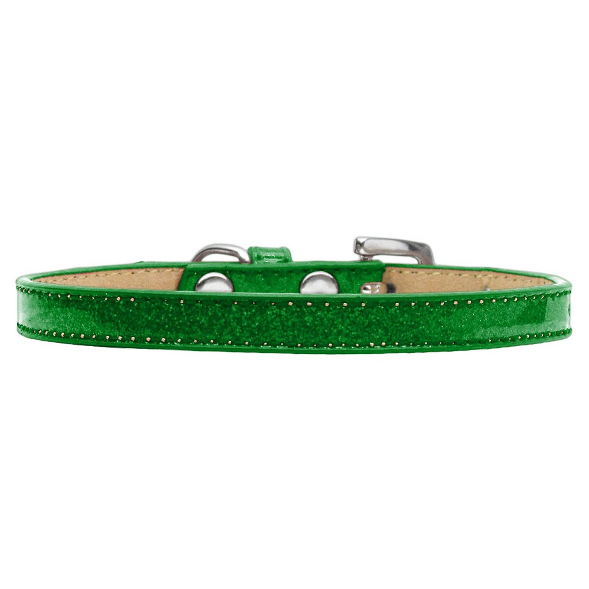 Confetti Ice Cream Dog Collar - Emerald Green