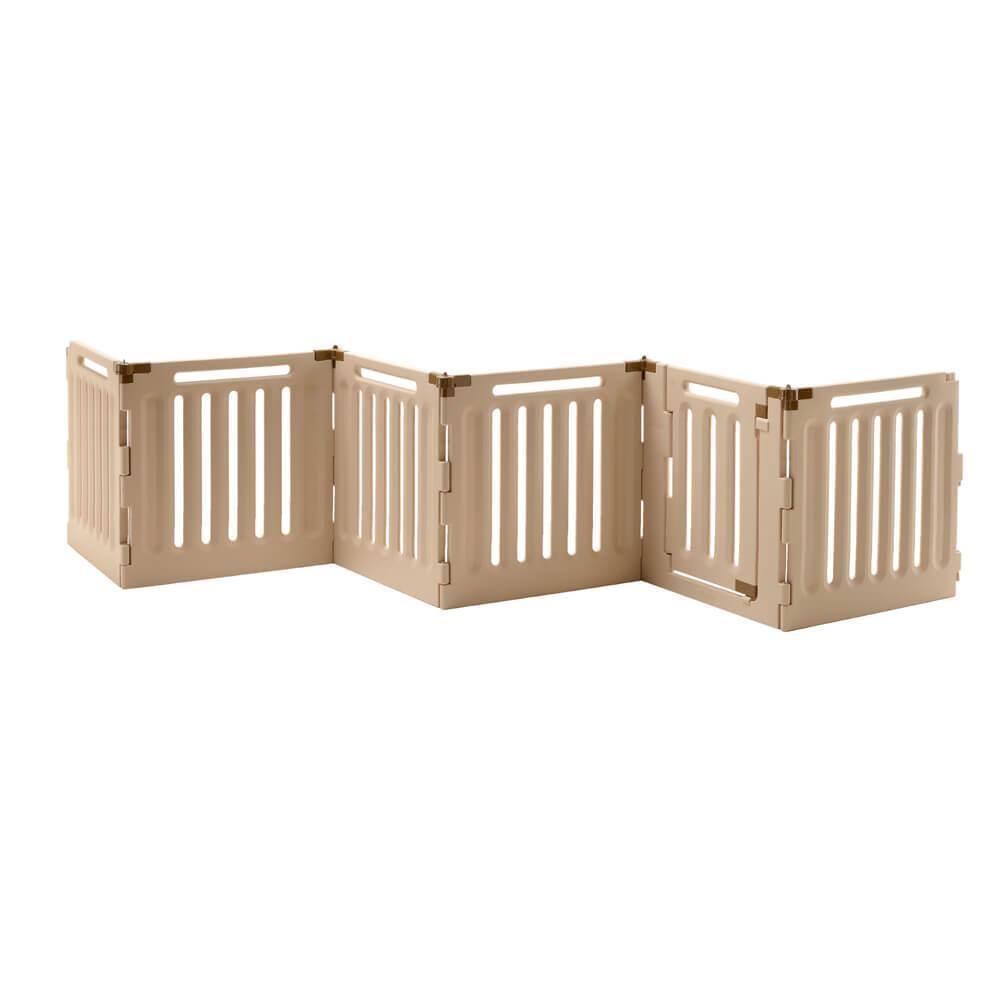 Convertible Indoor/Outdoor Dog Playpen - 6 Panel