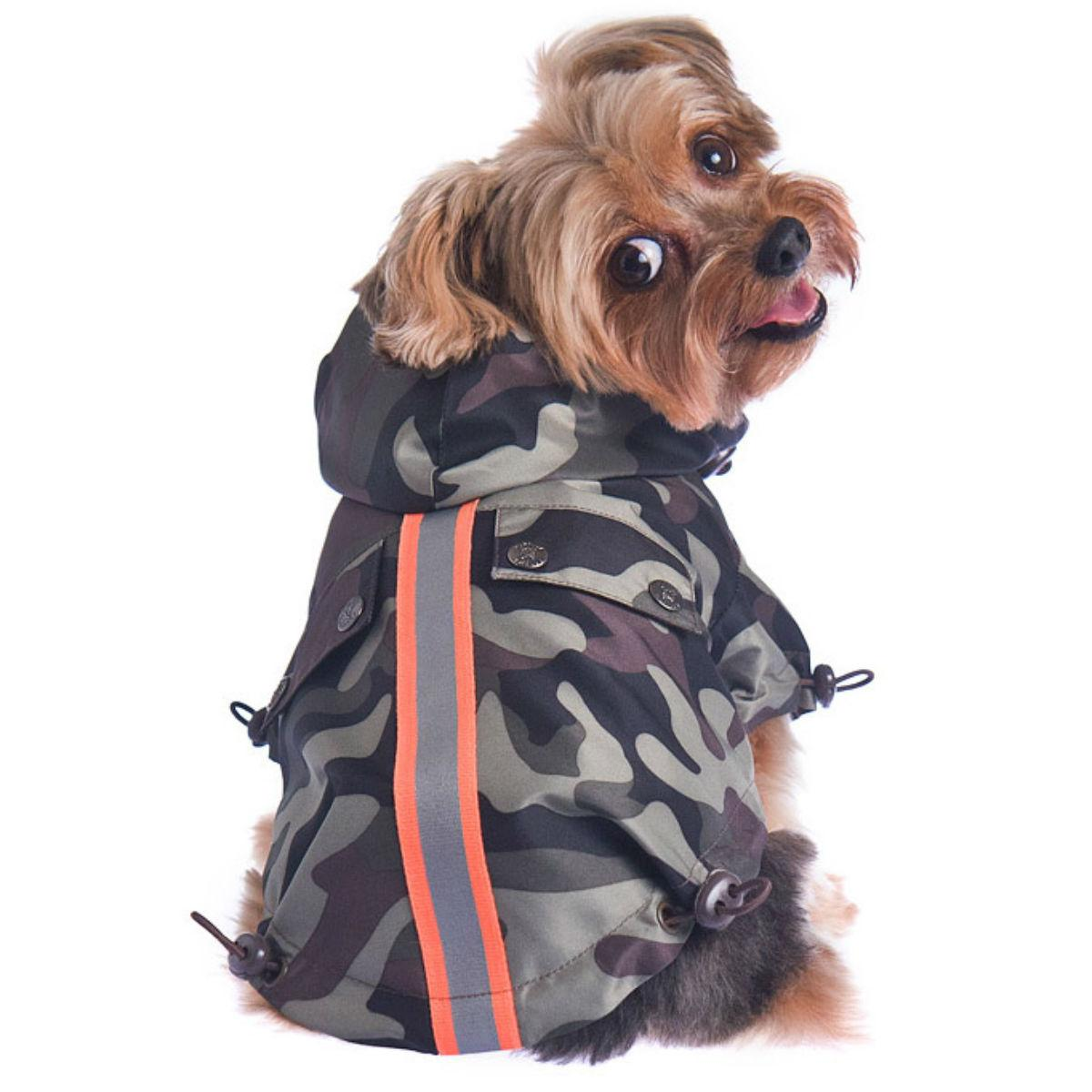 Convoy Reversible Dog Coat - Camo