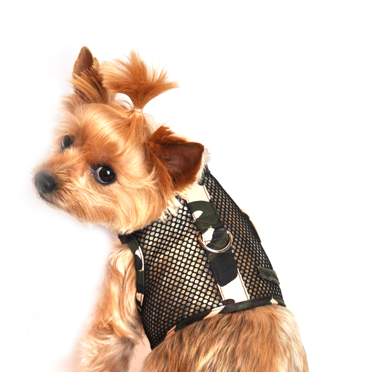 Camouflage Mesh Dog Harness by Doggie Design