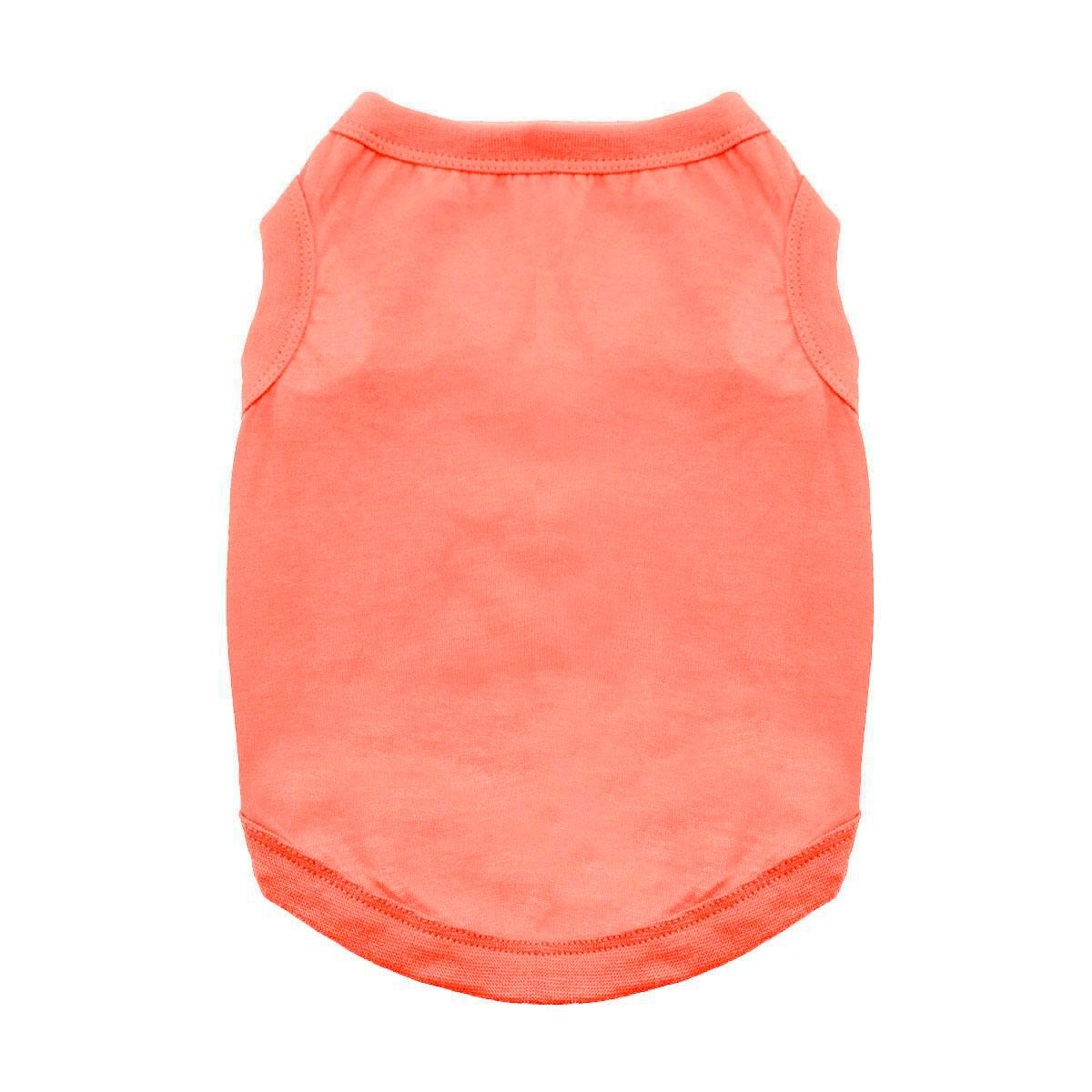 Cotton Dog Tank by Doggie Design - Coral