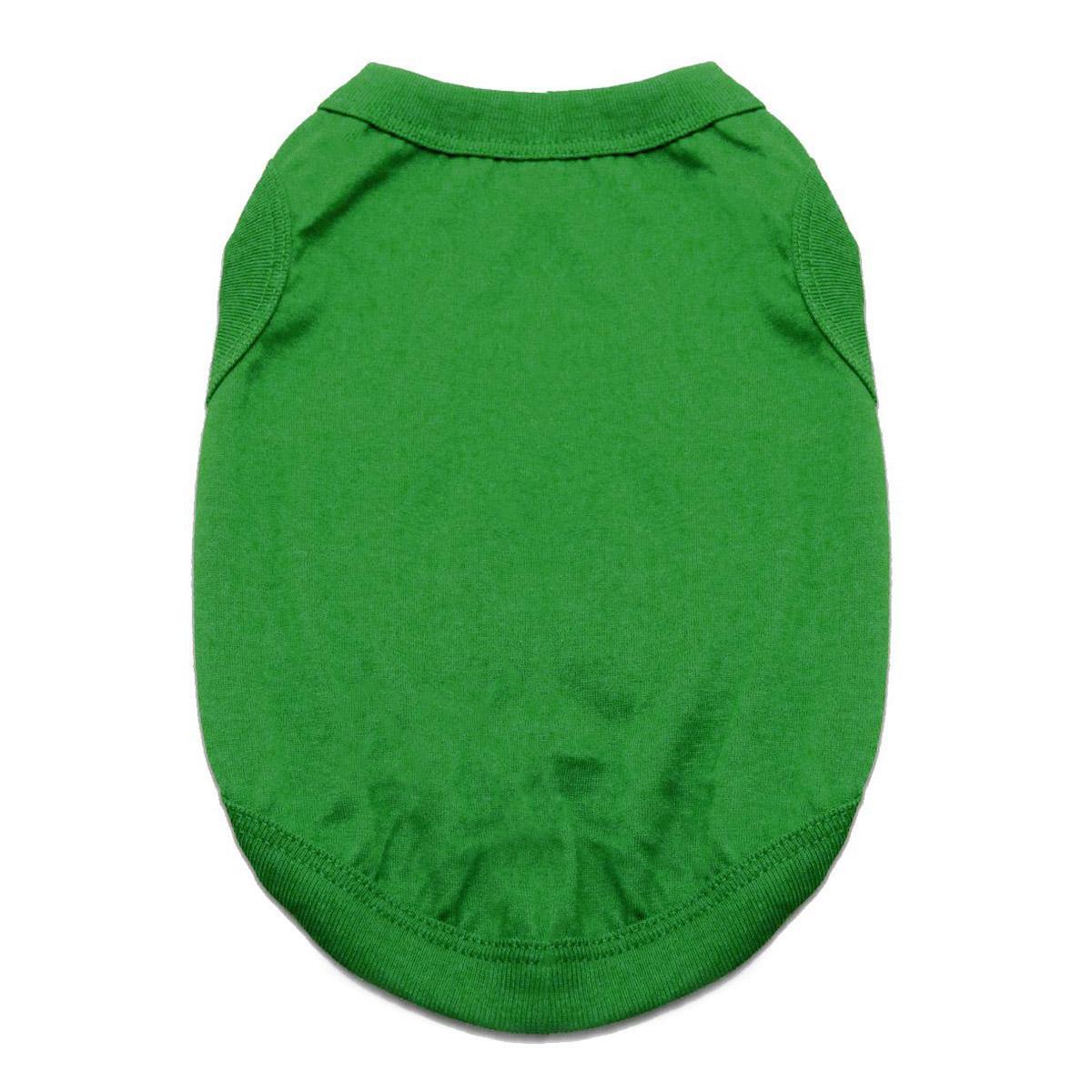 Cotton Dog Tank by Doggie Design - Emerald Green