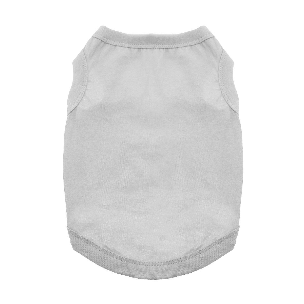 Cotton Dog Tank by Doggie Design - Glacier Gray