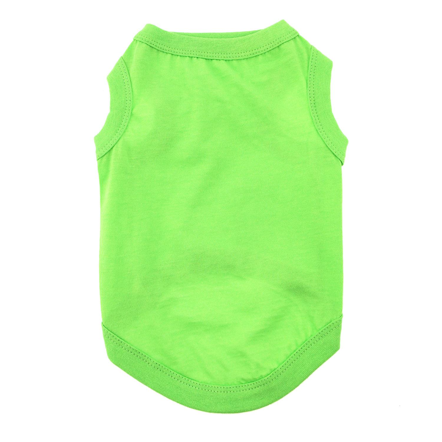 Cotton Dog Tank by Doggie Design - Green Flash