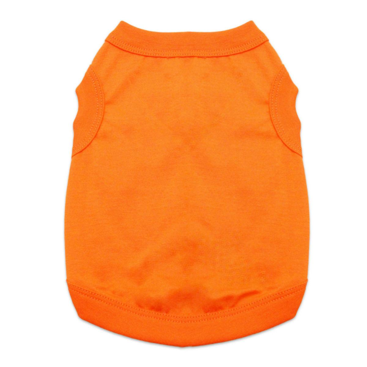 Cotton Dog Tank by Doggie Design - Sunset Orange