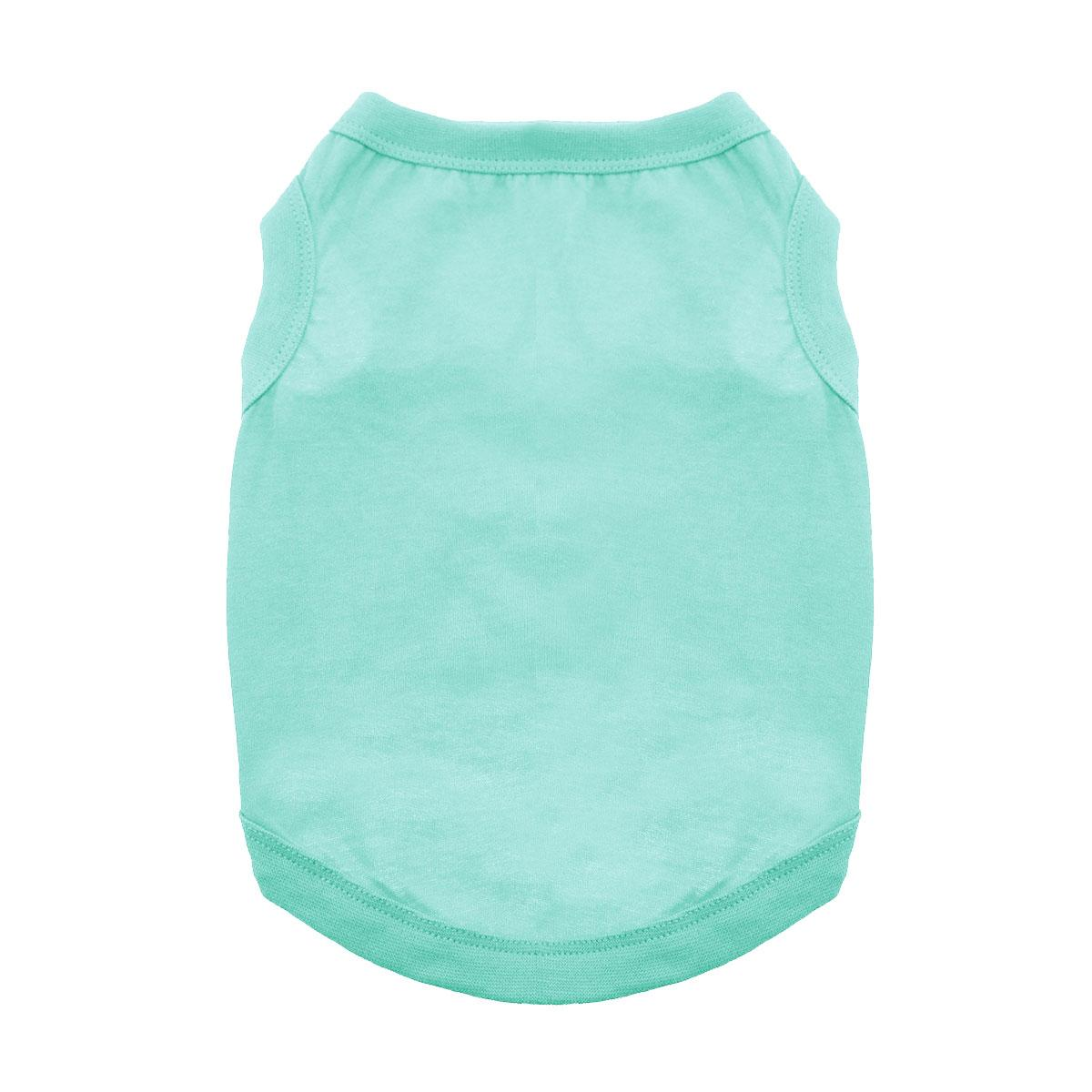 Cotton Dog Tank by Doggie Design - Teal