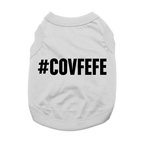 Covfefe Dog Shirt - Gray
