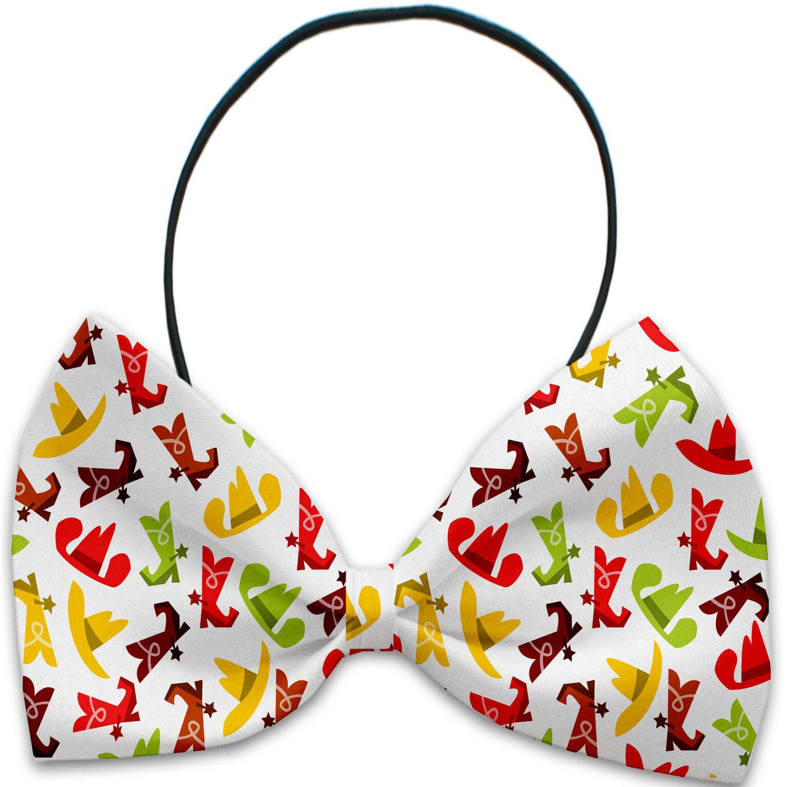 Mirage Cowboys Dog Bow Tie