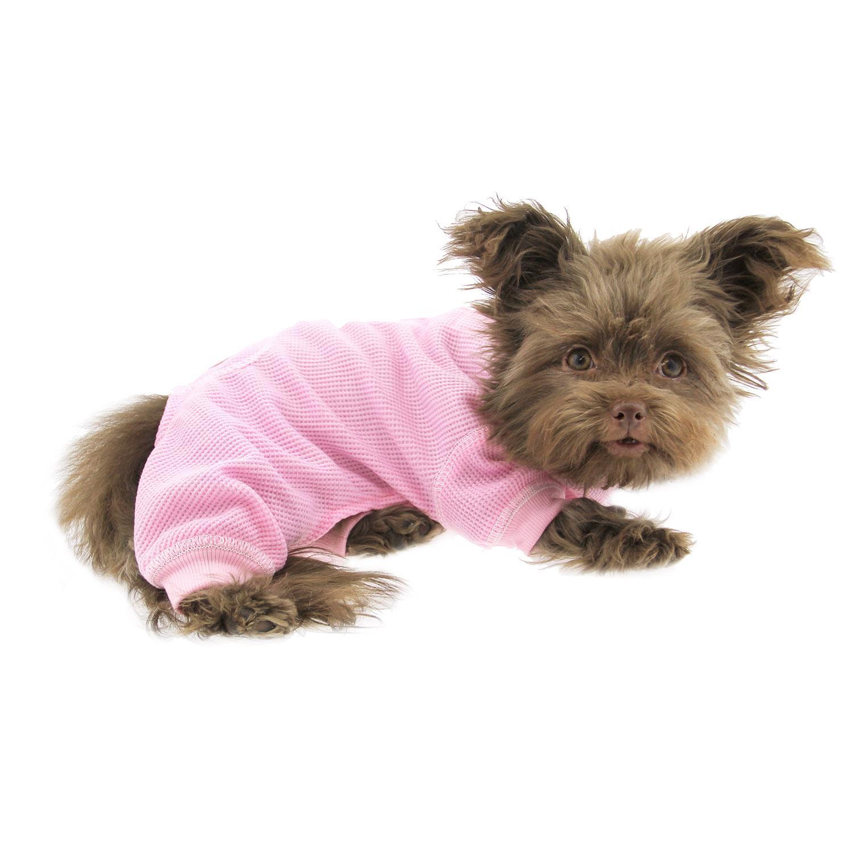 965acbb8dc34 Cozy Thermal Dog Pajamas - Pink
