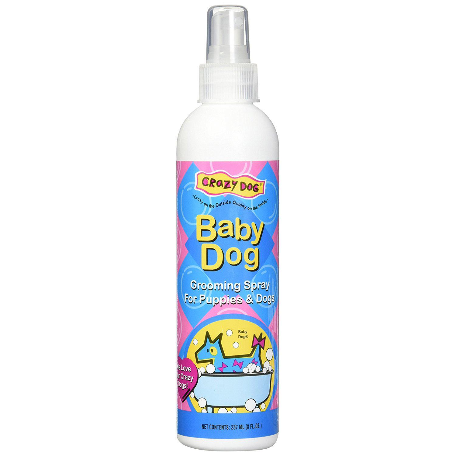Crazy Dog Grooming Spray Cologne -  Baby Powder