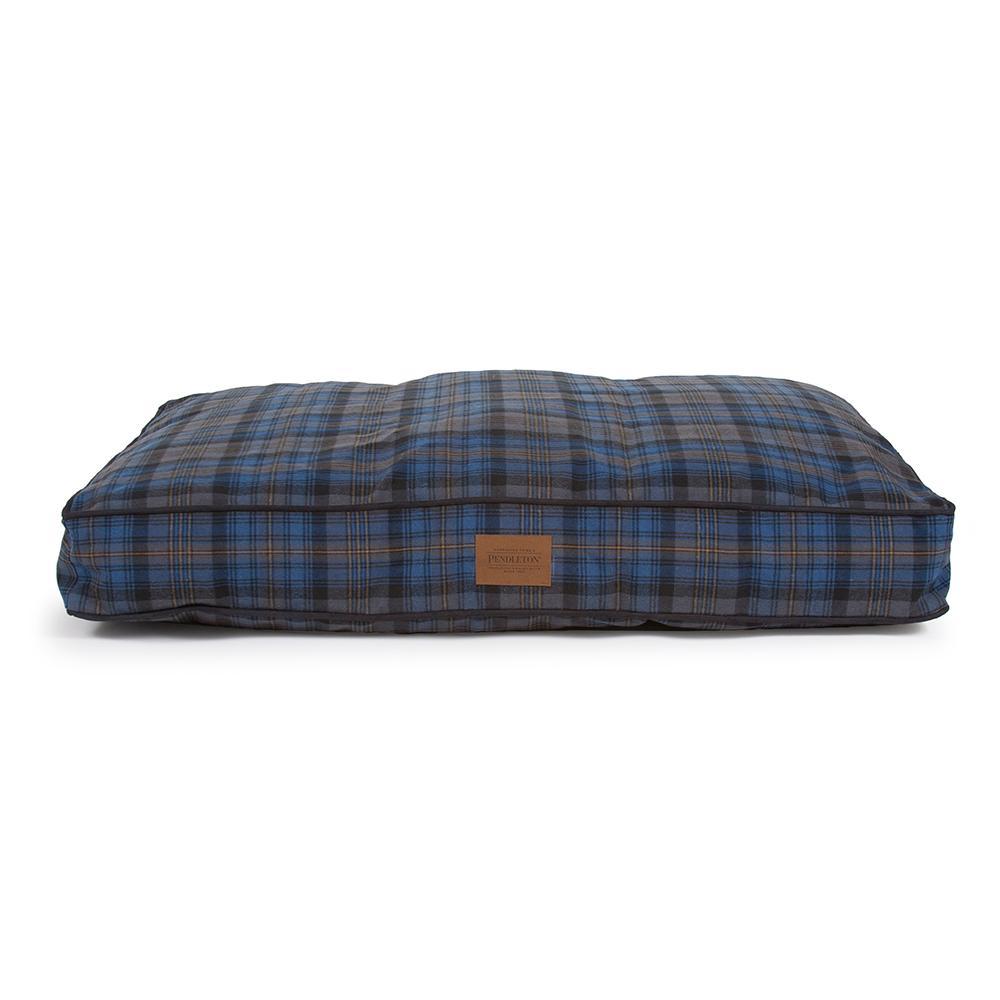 Crescent Lake Plaid Pet Napper Dog Bed by Pendleton Pet