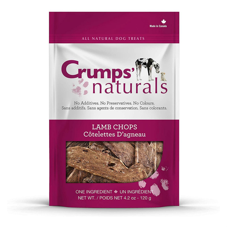 Crumps' Naturals Lamb Chops Bites Dog Treats