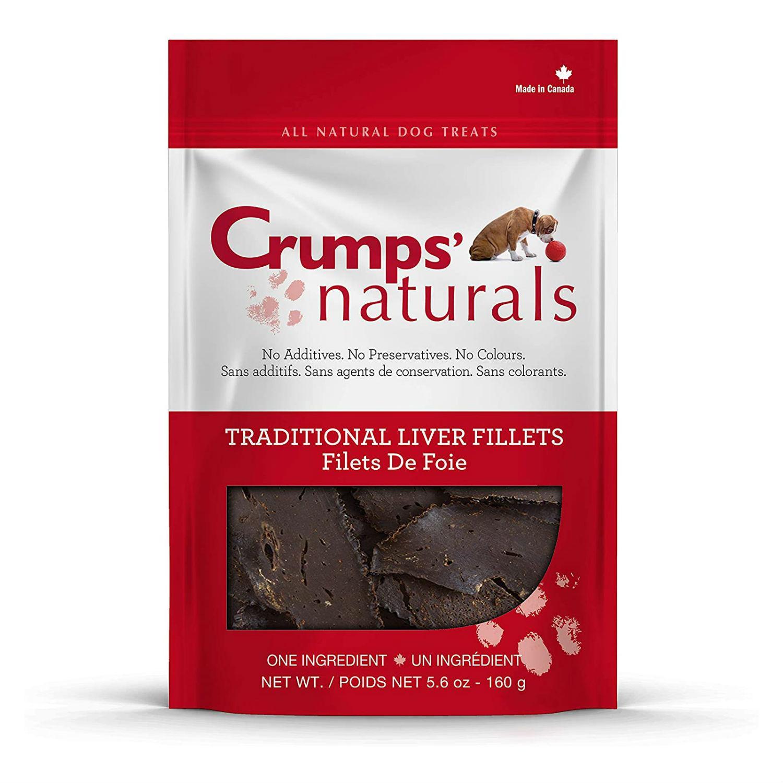 Crumps' Naturals Liver Fillets Dog Treat