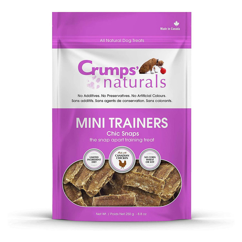 Crumps' Naturals Mini Trainers Dog Treats - Chic Snaps
