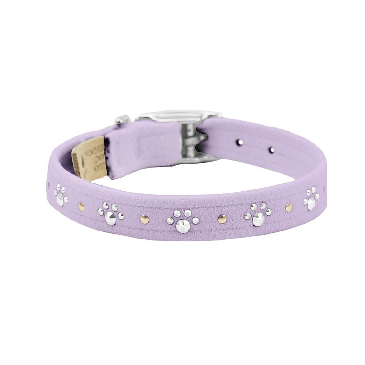 Crystal Paws Dog Collar by Susan Lanci - French Lavender