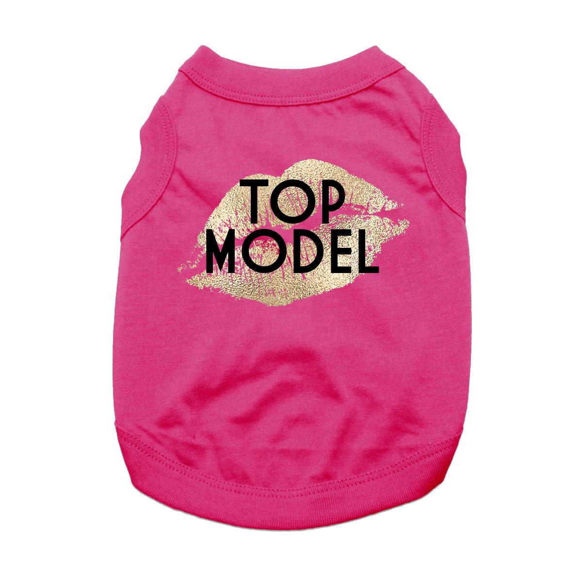 Top Model Dog Shirt - Raspberry