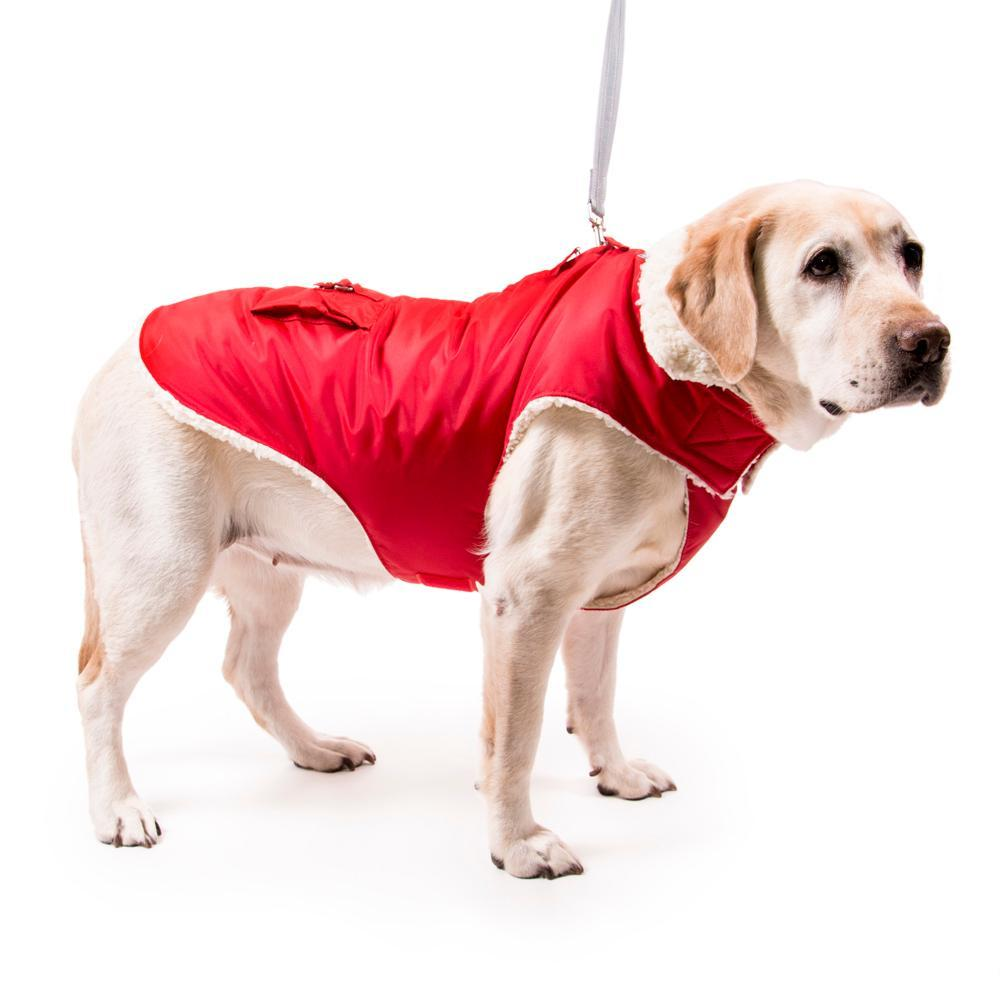 Aspen Dog Parka - Red