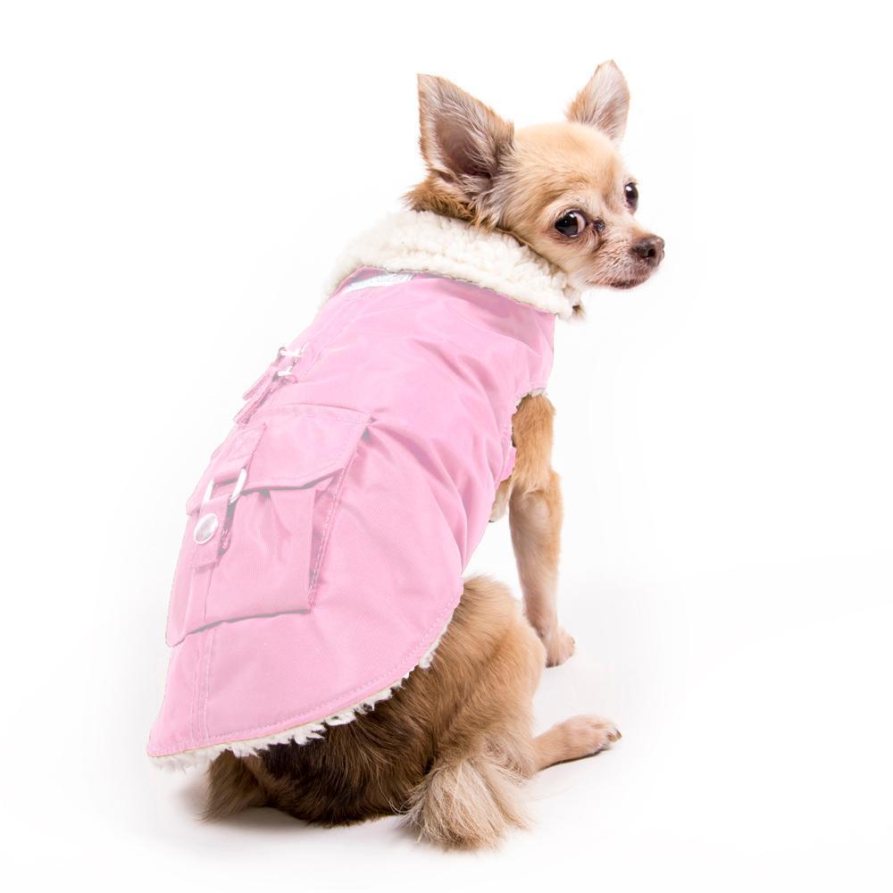 Aspen Dog Parka - Pink