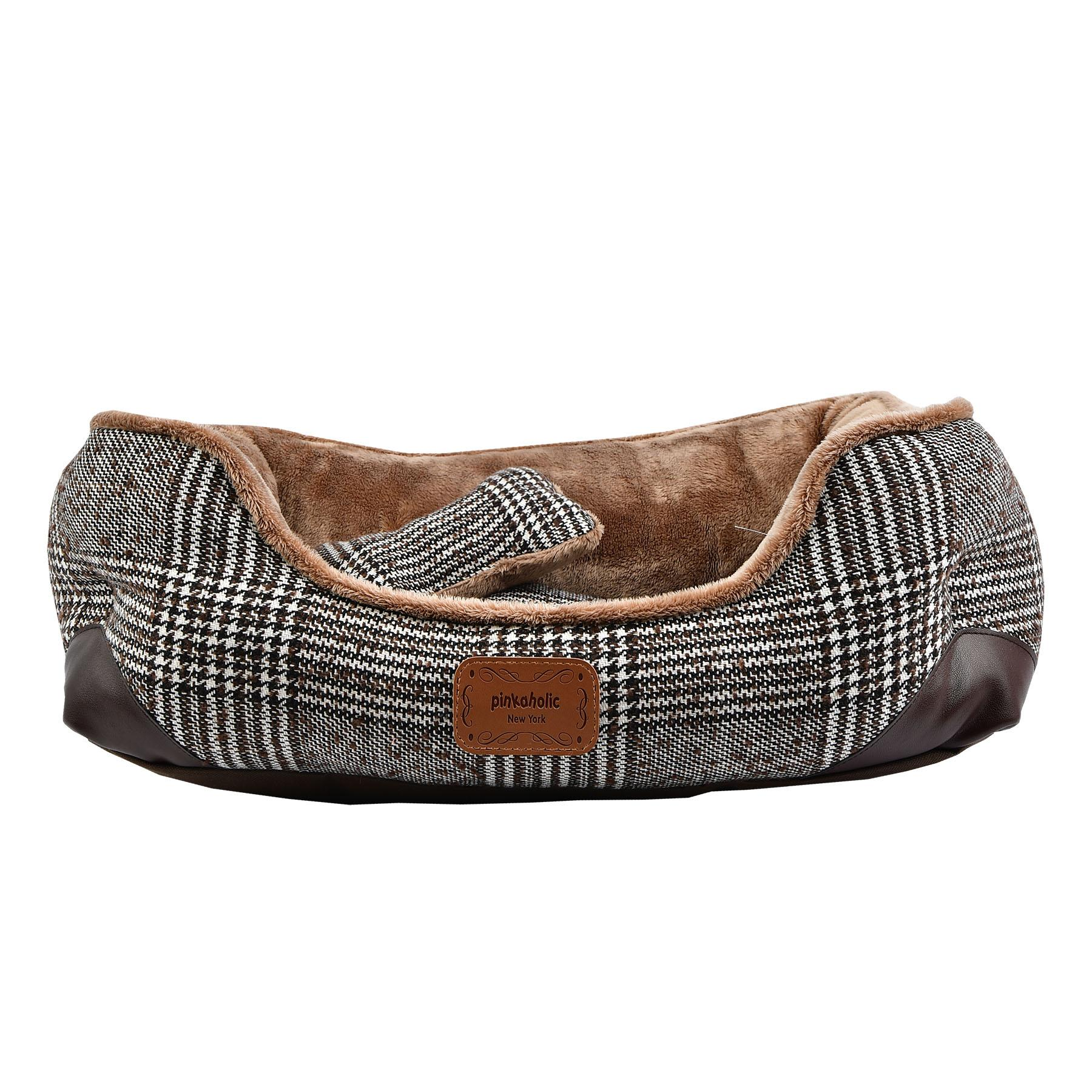 Da Vinci Dog Bed By Pinkaholic - Brown