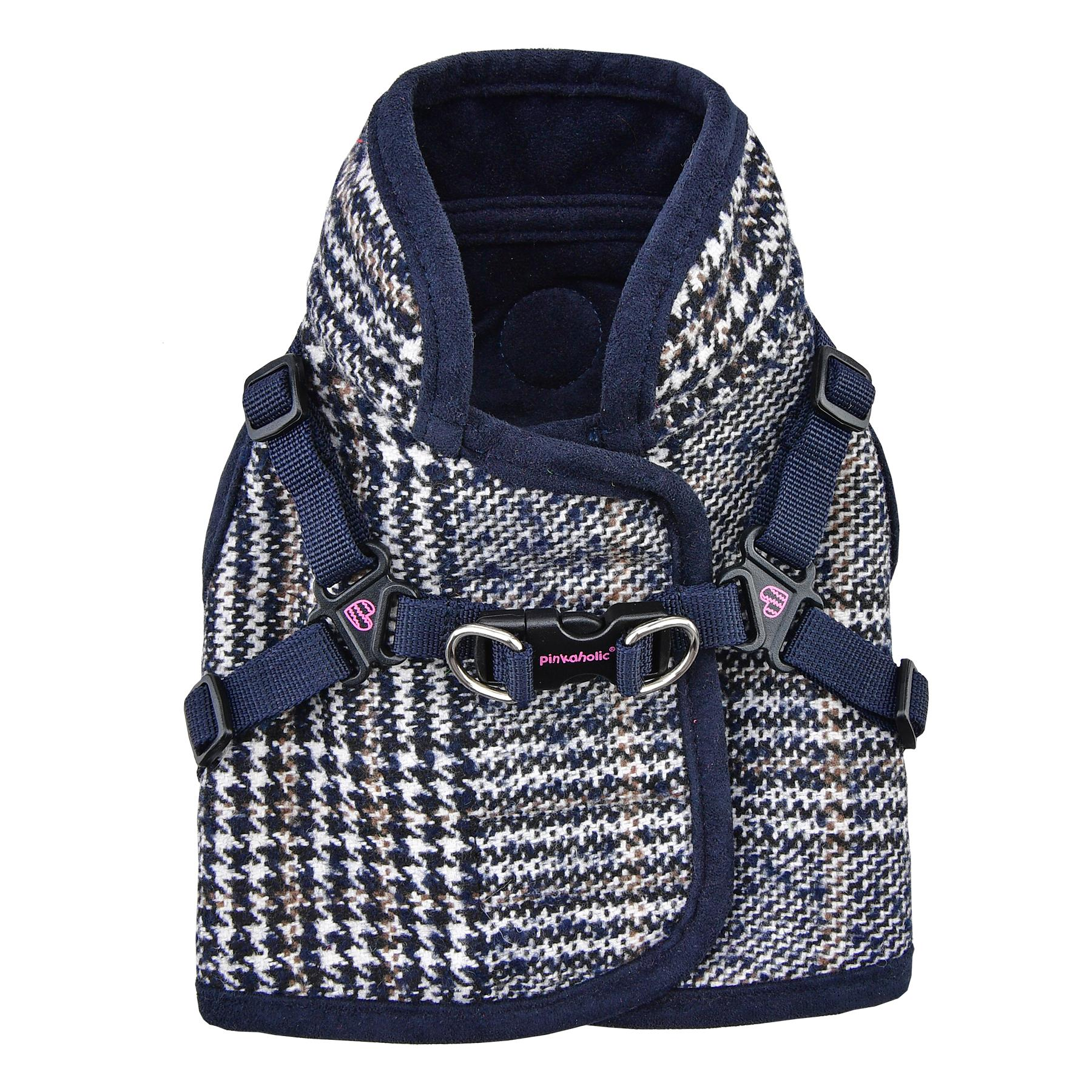 Da Vinci Vest Dog Harness By Pinkaholic - Navy