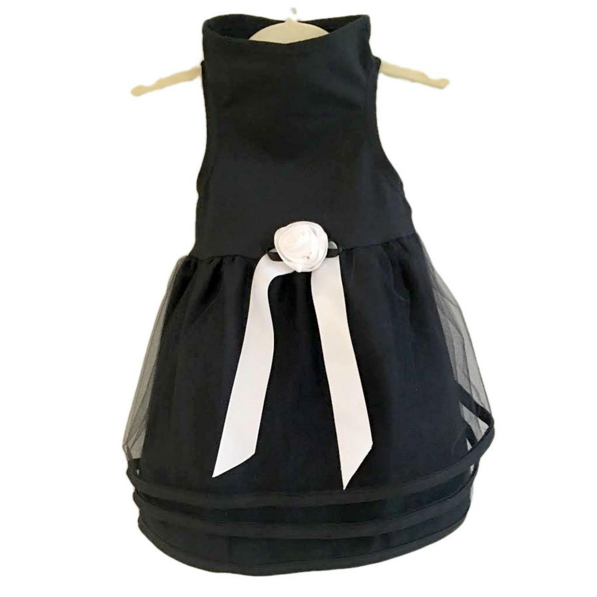 Daisy & Lucy Black Tulle Dog Dress