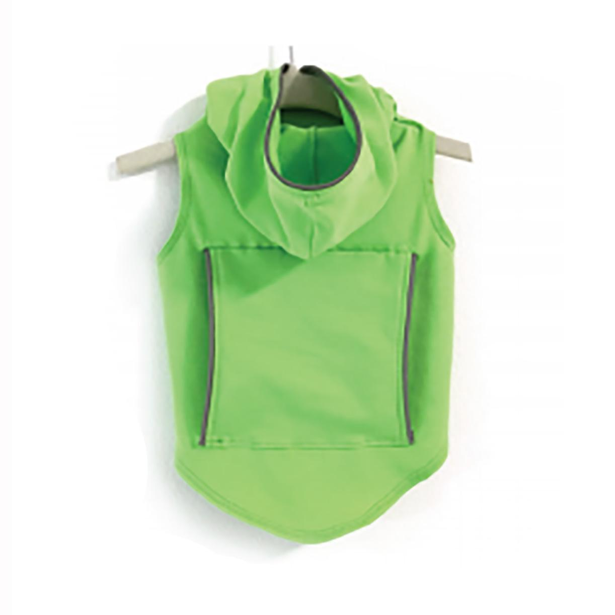 Daisy and Lucy Reflective Dog Hoodie - Lime Green