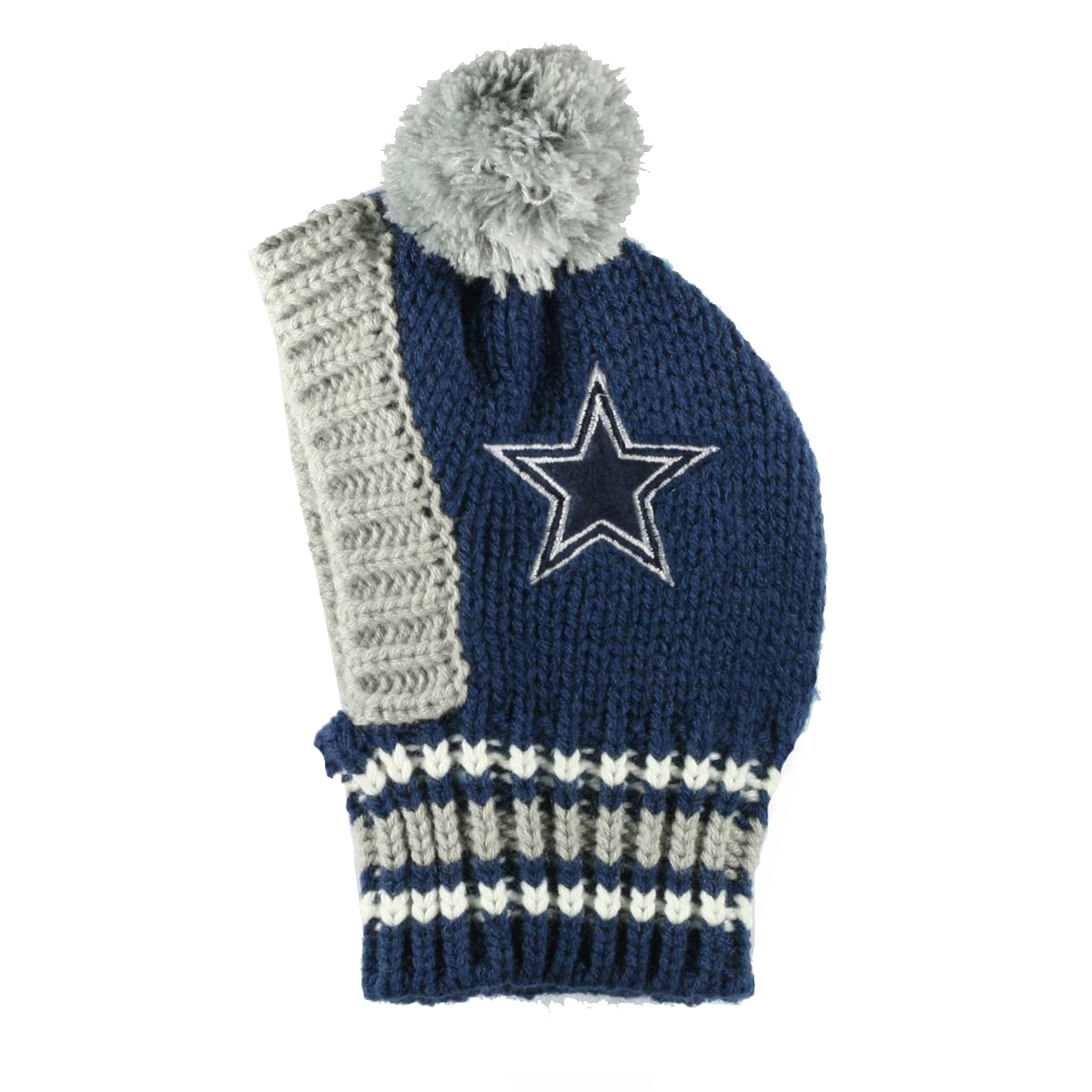 Dallas Cowboys Knit Dog Hat  5817b9c28
