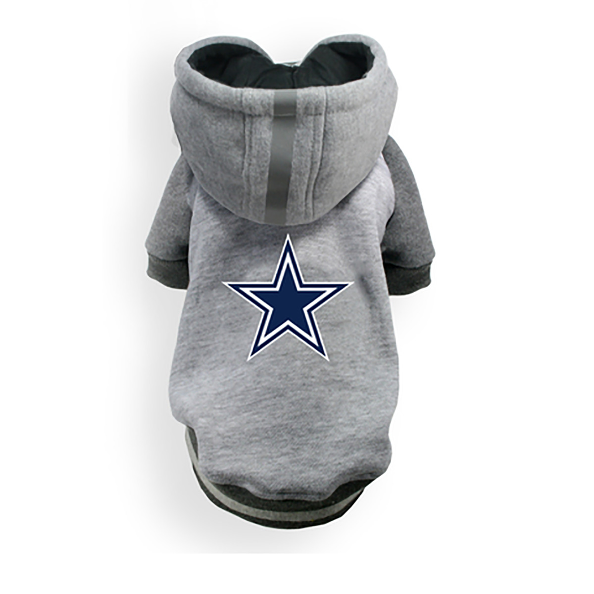 free shipping 81d3f a7539 Dallas Cowboys NFL Dog Hoodie - Gray