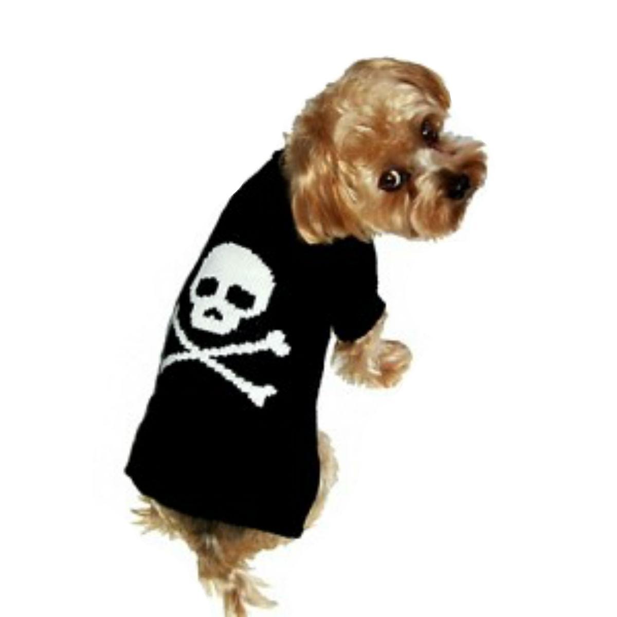 Dallas Dogs Jolly Roger Dog Sweater - Boy