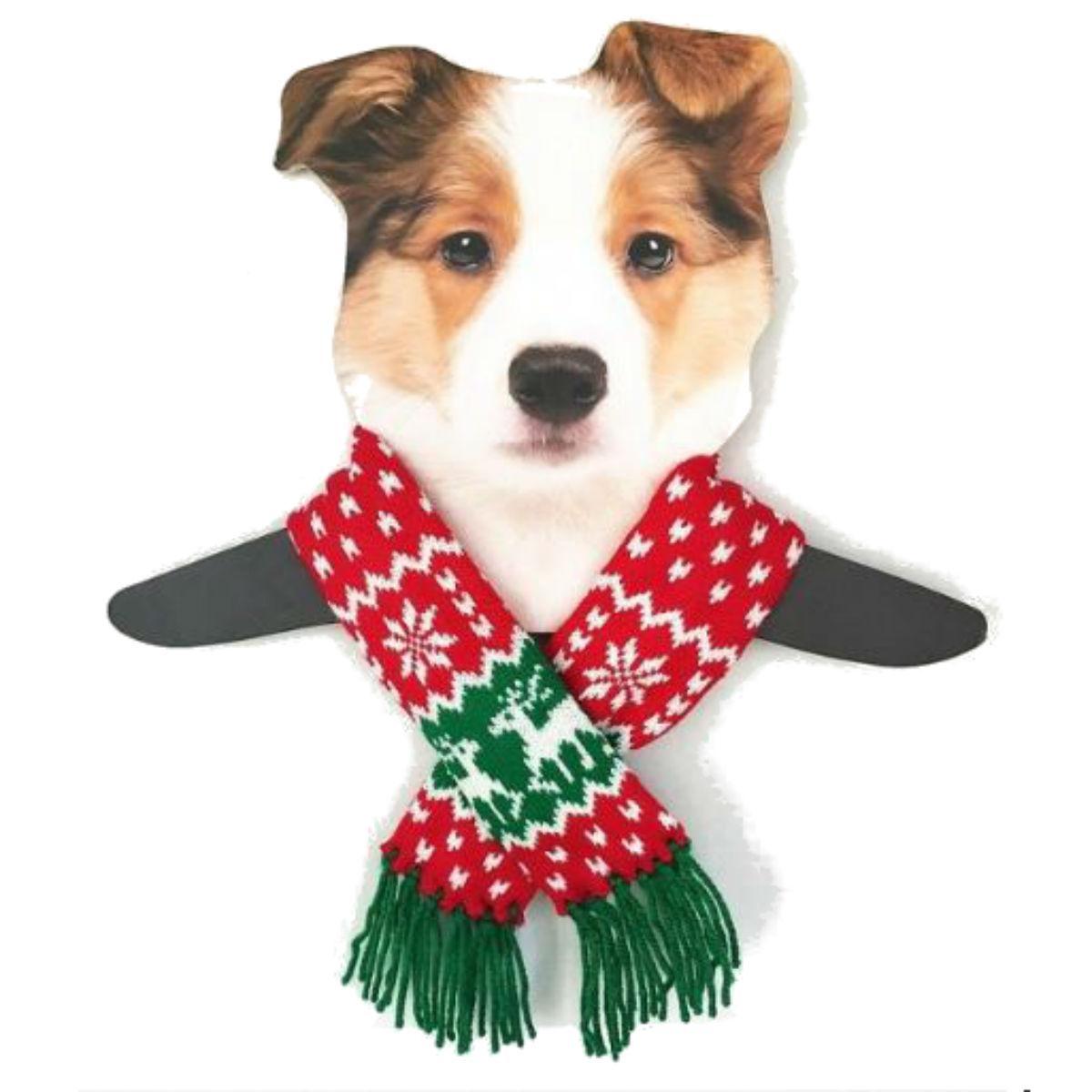 Dallas Dogs Reindeer Dog Scarf